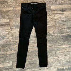 Articles of Society black skinny jeans size 27